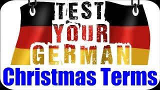 German Language Test (+Answers)   Christmas Vocabulary 🎄❅   VlogDave