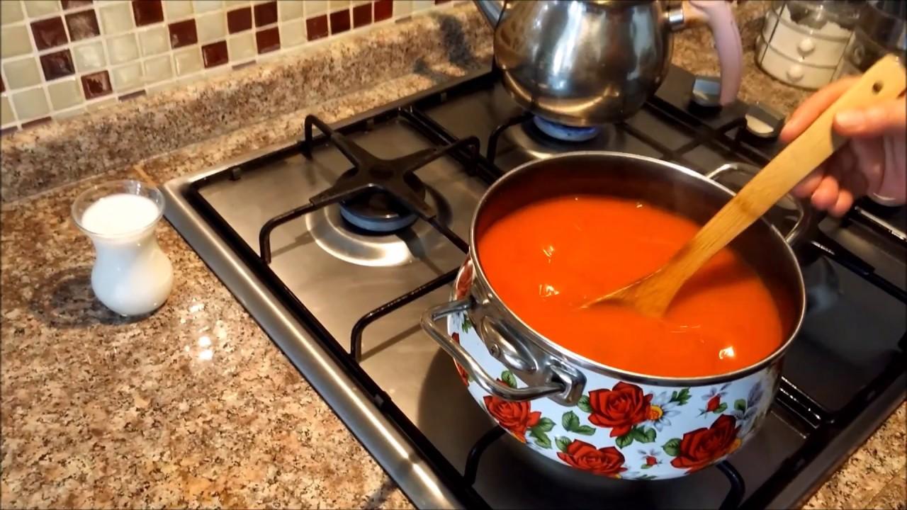 Kremalı Domates Çorbası Yapılışı Videosu