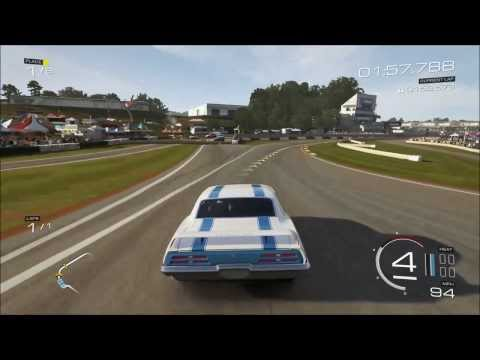 Forza 5 1969 Pontiac Firebird Trans Am on Road Atlanta Gameplay