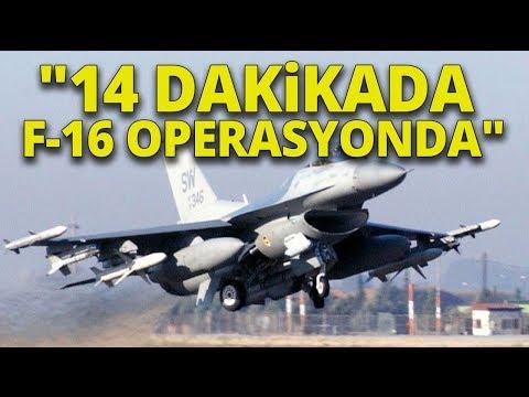 """Mete Yarar: """"F-16'ları Artık Taksi Çağırır Gibi Uçuruyoruz"""""""