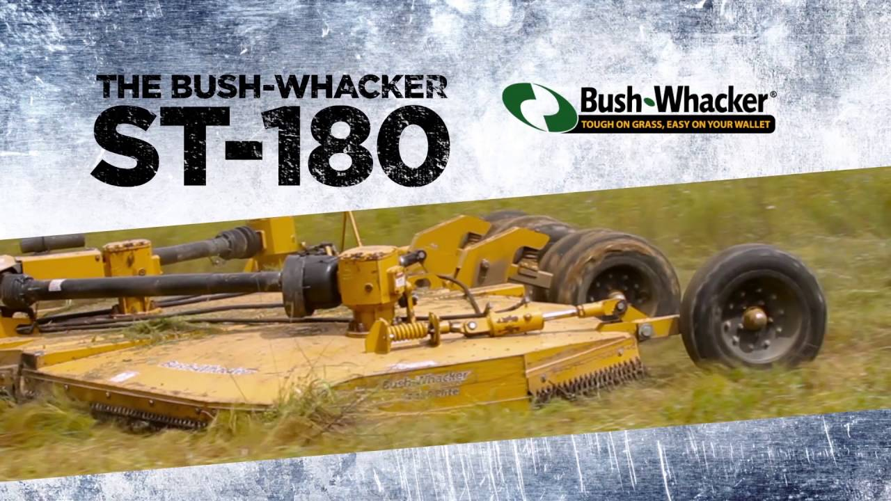Bush Whacker Heavy Duty 15 Foot Flex Wing Rotary Cutter St