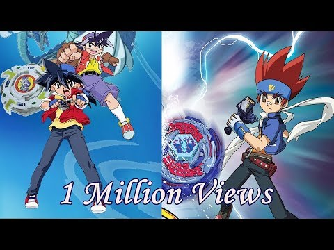 1 Million Special!! Tyson VS Gingka Beyblade Epic AMV #OldVsNewGen #CourtesyCall #AnimeMusicVideo