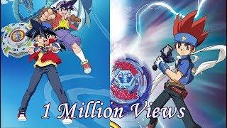 1 Million Special!! Tyson VS Gingka Beyblade Epic AMV #OldVsNewGen #CourtesyCall #AnimeMusicVideo