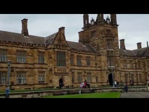 MY FIRST VLOG!! A DAY IN MY LIFE-EXPLORING THE SYDNEY UNIVERSITY!!! and Getting lost? with IronWolf