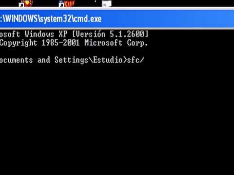 Como reparar los archivos dañados de Windows