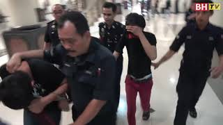 Subahat penyamun, dua polis berdepan hukuman mati
