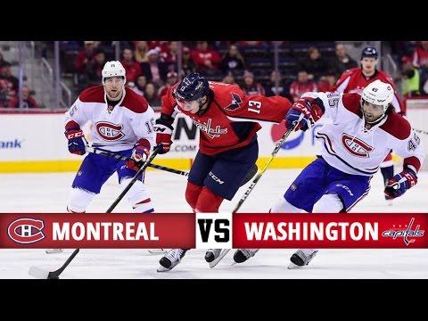 Montreal Canadiens vs Washington Capitals   Season Game 31   Highlights (17/12/16)