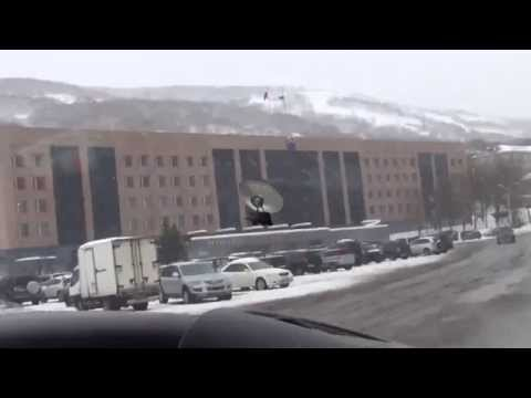 Kamchatka Petropavlovsk out of the car window part 13