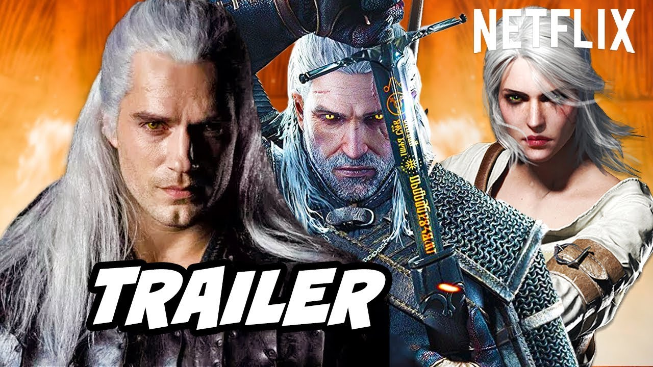 The Witcher Trailer Episode 1 Scene and Easter Eggs - Witcher Netflix Breakdown thumbnail