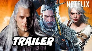 The Witcher Trailer Episode 1 Scene and Easter Eggs - Witcher Netflix Breakdown