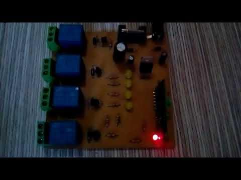 AUTOMAÇÃO PLACA 4 RELES RF/ RELE