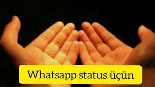 Allahım mənim ona gücüm yetməz ( whatsapp status üçün)