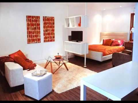 Decorating A Small Studio Apartment On A Budget YouTube Gorgeous How To Decorate A Studio Apartment