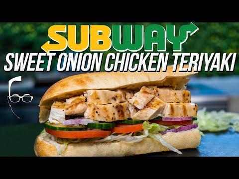 Sweet Onion Chicken Teriyaki Sandwich