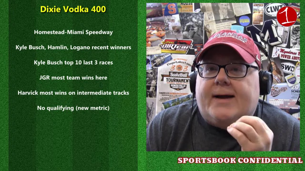 SPORTSBOOK CONFIDENTIAL: NASCAR at Homestead-Miami betting preview (podcast)