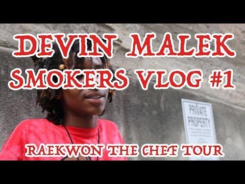 DEVIN MALEK Smokers Vlog #1: Opening 4 Raekwon