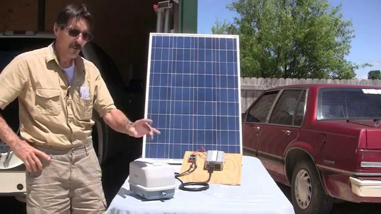 Solar Pond Aeration No Batteries Missouri Wind And Solar