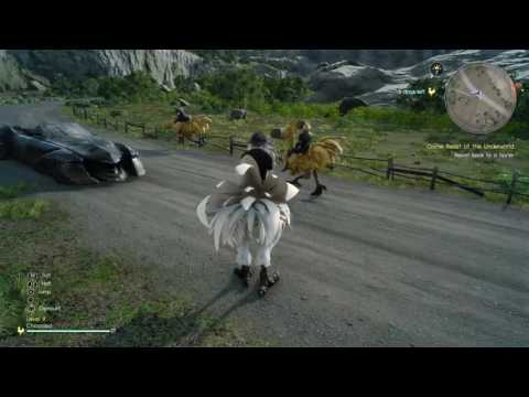 Final Fantasy XV End Game farm