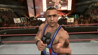WWE Smackdown Vs Raw 2010 Cut Scenes CREATED SUPERSTAR