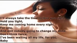 Monica Without You Lyrics