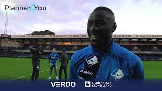 Kamara: Det føles godt at give tilbage til klubben