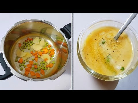 Relief From COLD & COUGH Above 6 Months Babies    Veg Soup Recipe