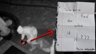 Creepy Message Left On My Front Porch (Security Footage Included)