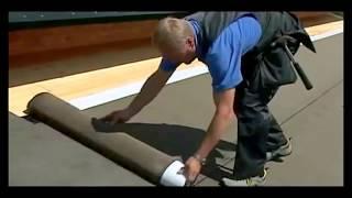 Монтаж гибкой черепицы(Видео инструкция, как правильно сделать монтаж гибкой черепицы., 2015-02-28T09:39:21.000Z)