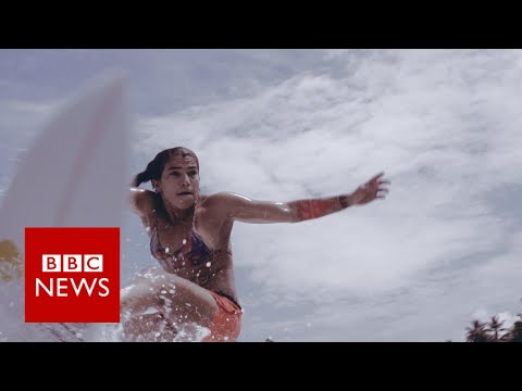 The surfer not considered hot enough for sponsorship - BBC News