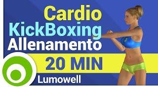 Esercizi di Cardio Kickboxing per Dimagrire Pancia e Cosce