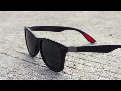 8900f9197e0 AOFLY BRAND DESIGN Classic Polarized Sunglasses Men Women Driving Square  Frame Sun Glasses Male