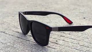 5b7b2974a3 AOFLY BRAND DESIGN Classic Polarized Sunglasses Men Women Driving Square  Frame Sun Glasses Male ...