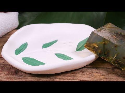 Botanical Soap dish ▪ FIMO DIY | STAEDTLER