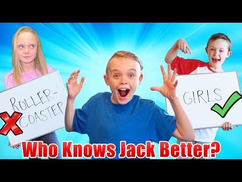 Who Knows Jack Better! Jazzy vs Kade! (Pt 2) |
