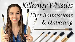 Killarney Tin Whistles - Unboxing Review   First Impressions