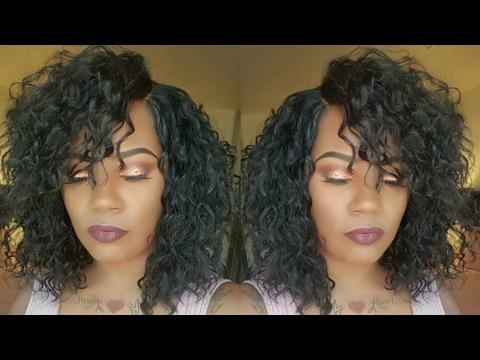 Curly Bob Style wig. ZURY SIS ELisa . Blackhairspray.
