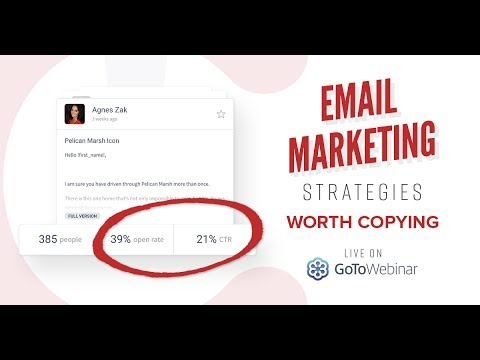 Email Marketing Strategies Worth Copying