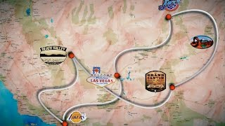 The Grand Circle (Road Trip) West Coast, USA