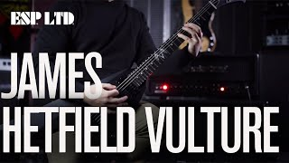 esp ltd james hetfield vulture quick demo