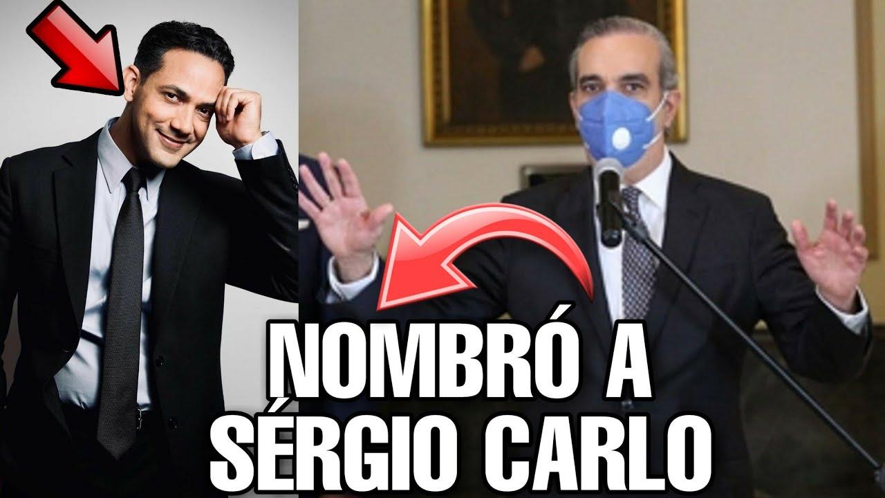 Luis Abinader Nombra A Sergio Carlo En Su Gobierno