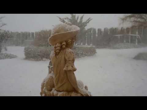 Murcia snow - Spain 19th January 2017 at 10am