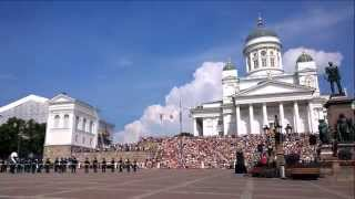 陸上自衛隊中央音楽隊 The Japan Ground Self Defence Force Central Band Hamina Military Tattoo 2014 Helsinki Min
