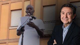 Federico Jiménez Losantos responde a Serigne Mbayé, el mantero de Pablo Iglesias