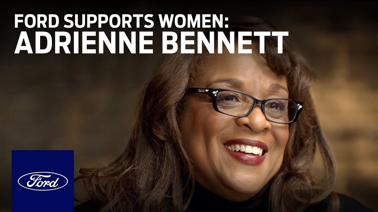 Ford Supports Women Who Power America Forward – Meet Adrienne Bennett | Go Further | Ford