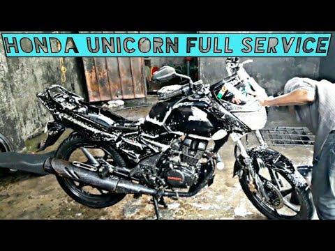 How to do Honda Unicorn full service || CB Unicorn 150 full service in hindi s advice