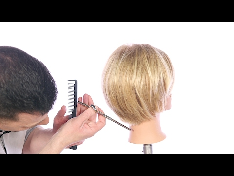 How to Cut a Textured Bob Haircut – TheSalonGuy
