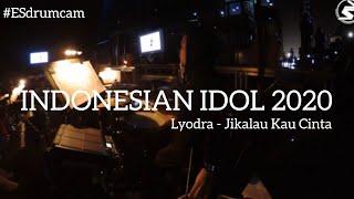 Echa Soemantri - Jikalau Kau Cinta - Lyodra | Indonesian Idol 2020 #ESdrumcam