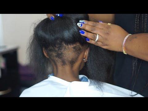 HER HAIR WAS CUT BY BULLIES
