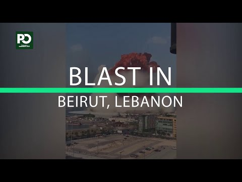 Breaking News: Explosion caught on camera in Beirut, Lebanon | Pakistan Observer