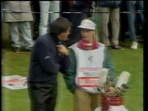 Seve and the fruitcake incident 1991. See below.